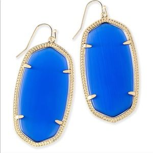 KENDRA SCOTT Cobalt Danielle Earrings